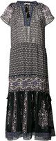 Ulla Johnson V-neck midi dress - women - Polyester/Silk - 2