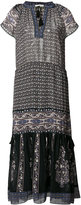 Ulla Johnson V-neck midi dress - women - Silk/Polyester - 2