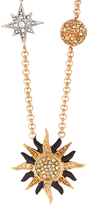 Roberto Cavalli Planet Charms embellished necklace