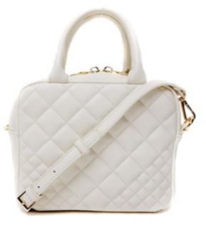 Like Dreams Snakeskin Boxy Treasure Box Handle Bag