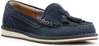 Ariat Women's Loafers - Navy Tassel Cruiser Suede Loafer - Women