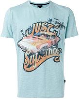 Just Cavalli car print T-shirt - men - Cotton - L