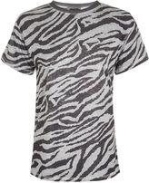 Topshop Acid Zebra T-Shirt