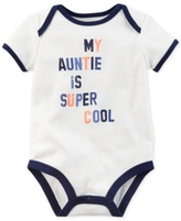 Carter's My Auntie Is Super Cool Cotton Bodysuit, Baby Boys (0-24 months)