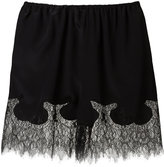 McQ by Alexander McQueen lace trim shorts