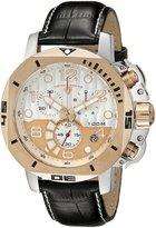 Swiss Legend Men's 10538-02S-RBP Scubador Chronograph Black Leather Watch