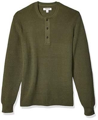 Goodthreads Soft Cotton Henley Sweater(EU S)