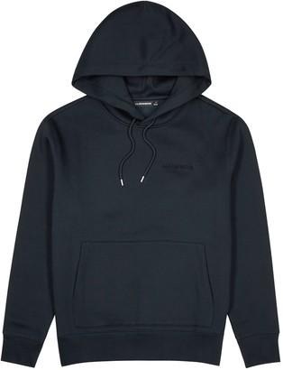 J. Lindeberg Chip navy logo-embroidered cotton-blend sweatshirt