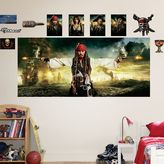 Fathead Disney Pirates of the Caribbean Mural Wall Decals by