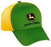 John Deere Yellow Cloth / Mesh Cap
