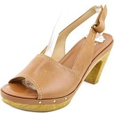 Naturalizer Honey Open Toe Leather Platform Sandal.