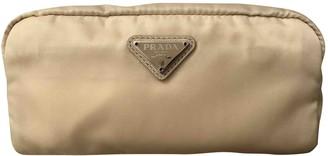 Prada Yellow Synthetic Travel bags