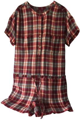 Masscob \N Red Cotton Jumpsuit for Women