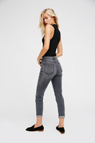 Free People Womens HIGH RISE ROLLER SKINNY 3