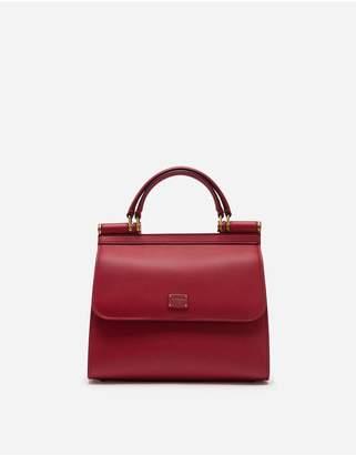 Dolce & Gabbana Small Calfskin Sicily 58 Bag