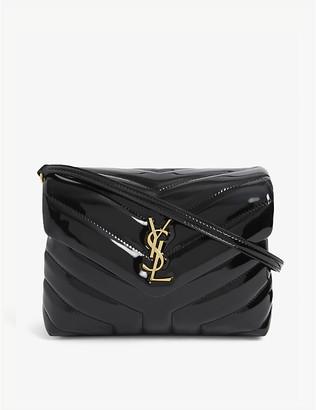 Saint Laurent Loulou Toy monogram leather cross-body bag