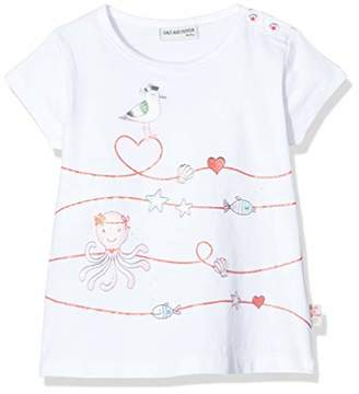 Salt&Pepper Salt and Pepper Baby Girls' mit maritimen Glitzerdruck T-Shirt,(Size: )