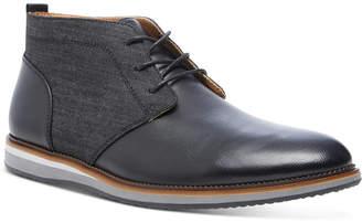 Steve Madden Men Hinton Mixed-Media Chukka Boots Men Shoes