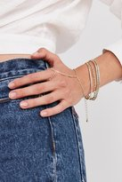 Urban Outfitters Gold Chain Ring To Wrist Bracelet