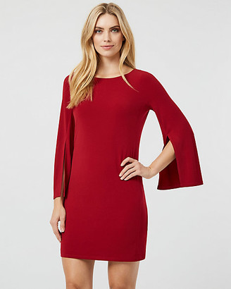 Le Château Knit Boat Neck Tunic Dress