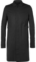 Rick Owens Cotton-Blend Trench Coat