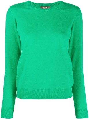 N.Peal Round Neck Cashmere Jumper