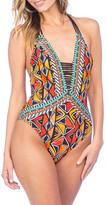 Nanette Lepore Mozambique Goddess One-Piece Swimsuit