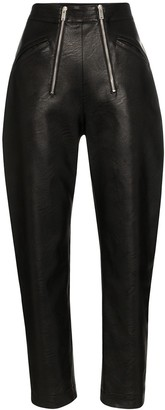 Stella McCartney Karli double-zip trousers