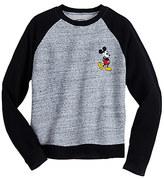 Disney Mickey Mouse Raglan Fashion Pullover for Juniors