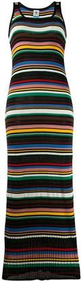 M Missoni Striped Sleeveless Maxi Dress