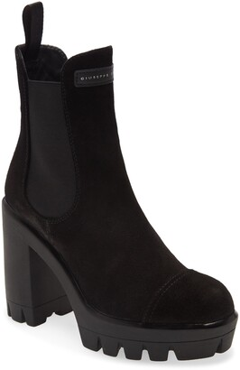 Giuseppe Zanotti Lug Platform Chelsea Boot