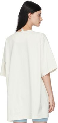 Marc Jacobs Off-White 'The Big T-Shirt' T-Shirt