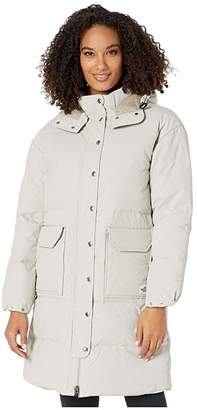 The North Face Down Sierra Parka (Dove Grey) Women's Coat