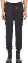 Belstaff Men's Ashdown Moto Sweatpants-BLACK