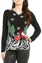 "Berek Frockling Santa"" Christmas Sweater"