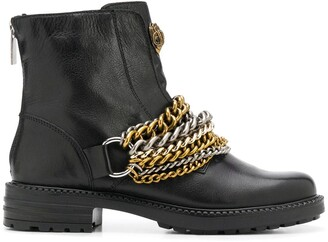 Kurt Geiger Stefan chain-link ankle boots