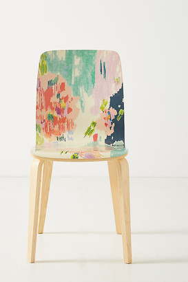 Anthropologie Adenia Tamsin Dining Chair By in Pink Size ALL