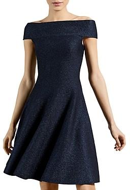Ted Baker Knit Bardot Skater Dress