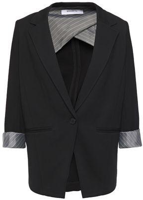 Bailey 44 Covina Stripe-trimmed Jersey Blazer