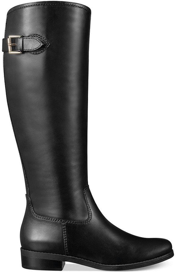 Tommy Hilfiger Dexter2 Wide Calf Tall Riding Boots