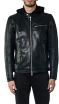 Dondup Leather Bomber Jacket
