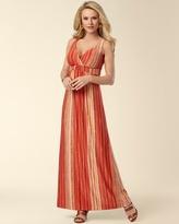 Soma Intimates Britney Viva Orange Maxi Dress