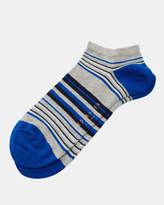 Ted Baker Striped cotton sneaker socks