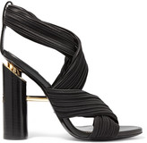 Tom Ford Plissé-satin sandals