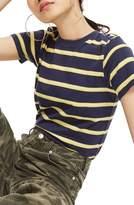 Topshop 70s Stripe T-Shirt