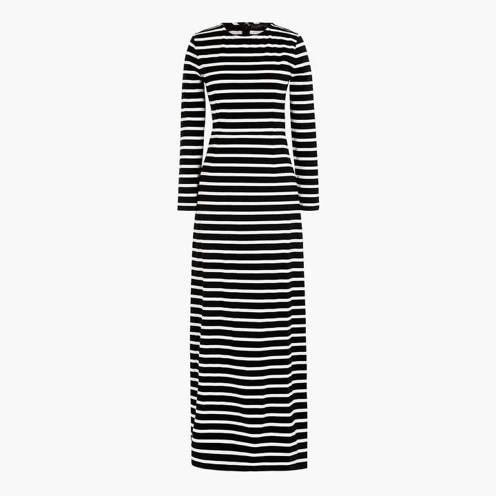 J.Crew Long-sleeve maxi dress