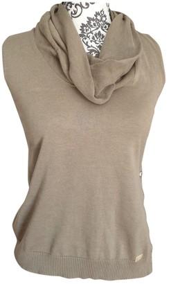 Trussardi Khaki Wool Top for Women