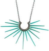 Salty Girl Jewelry Urchin Necklace Teal