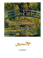 Pool' 1art1 Posters: Claude Monet Poster Art Print - Bridge Over A Pool Of Water Lilies, 1899 (28 x 20 inches)