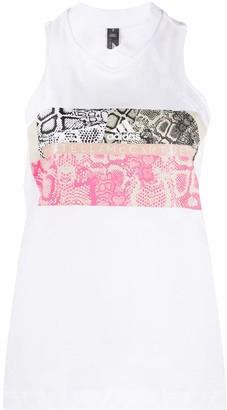 adidas by Stella McCartney Snakeskin-Print Vest